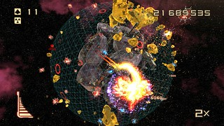 Super Stardust Ultra on PS4