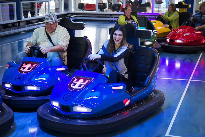 Quantum of The Seas - Sea Plex - Bumper Cars