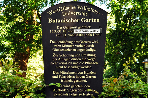 Garten Münster botanischer garten westfälische wilhelms universität münster