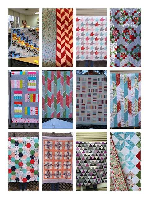 2014 quilt finishes