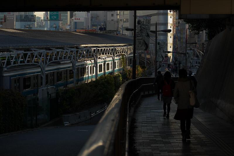 Tokyo Train Story 上野駅にて 京浜東北線 2015年
