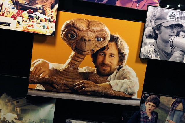 E.T. and Steven