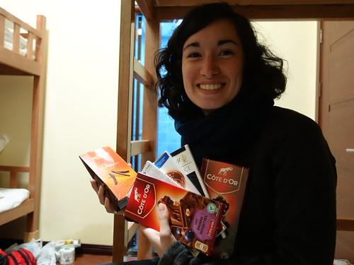 Chocolat en voyage !