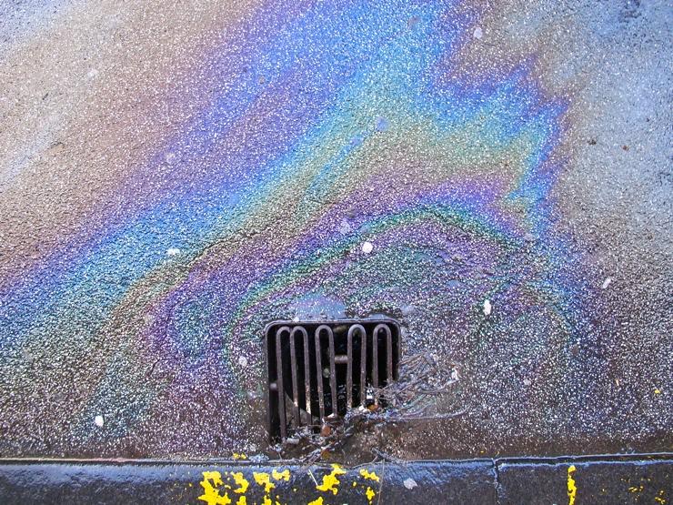 Gasonline rainbow