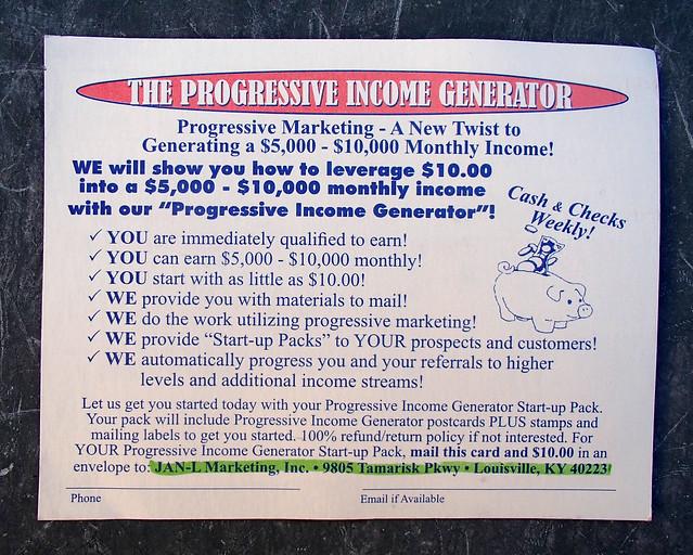 The Progressive Generator JAN-L Marketing Inc