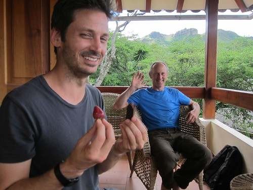 At Scott's place - Vilcabamba, Ecuador