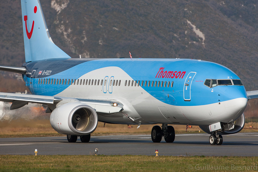 G-FDZY - B738 - TUI Airways