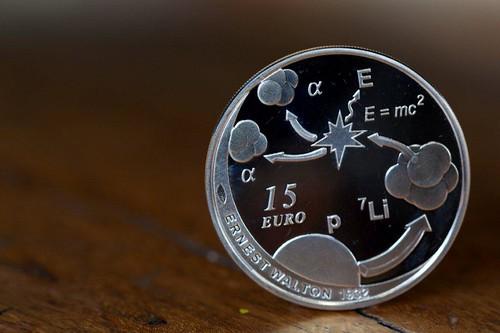 Ireland Coin on Ernest Walton