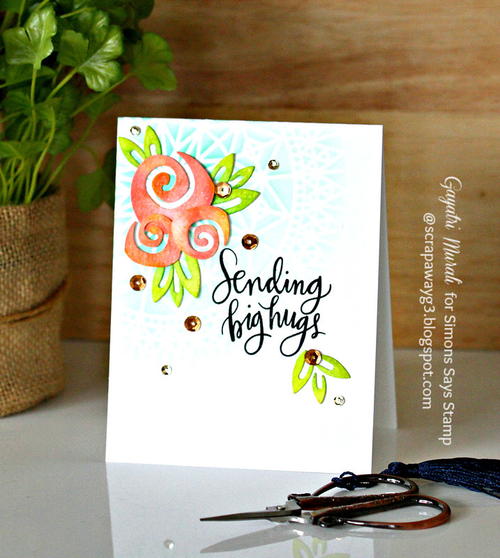 Sending big hugs card #1