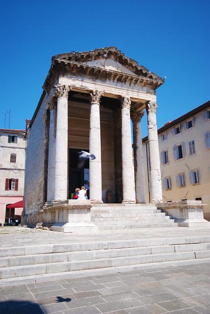 Temple of Augustus, Pula, Croatia