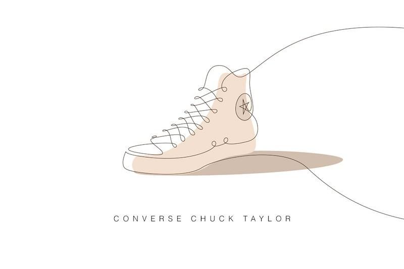 Sneaker Painting-Drawing Artwork Culture(3)