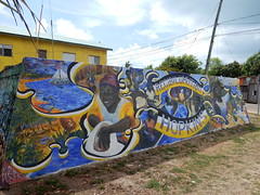 Hopkins - muurschildering