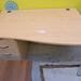 Maple wave desk
