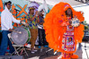 "Mr. Blazio and his New Orleans Second Line Band ""Big Chief"""