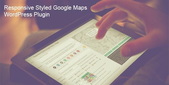 Responsive Styled Google Maps v4.1 - WordPress Plugin