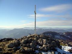 Cima y buzón del monte Erlo