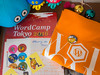 WordCamp Tokyo 2016 goods and T-shirt