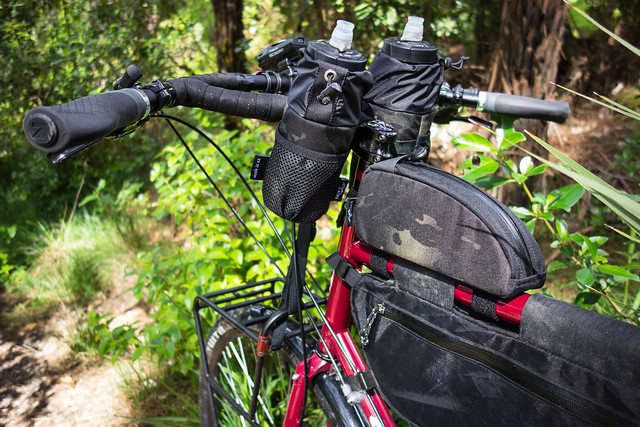 Stealth Bike Bags - Top Loader and Stem Pouches