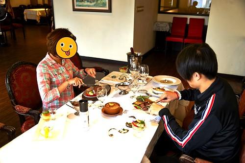 情侶約會必吃的高雄新國際西餐廳-名不虛傳的美味A餐與海陸套餐2