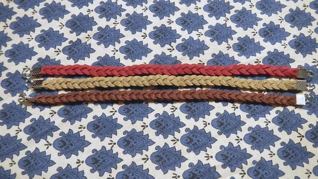 Braided Suede Bracelet 4