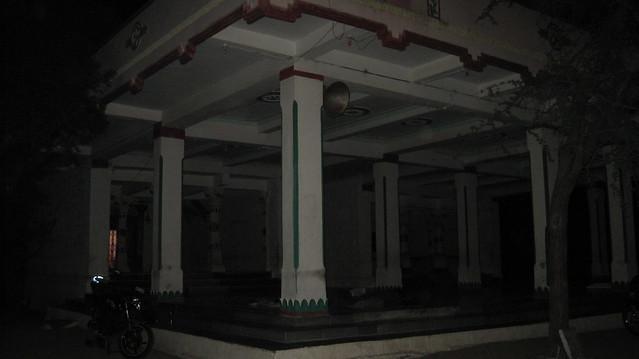 Temple Courtyard en route Goa