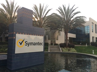 Symantec corporate building in Mountain View