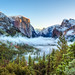 First Snow at Tunnel View - Yosemite National Park by Tom.Bricker