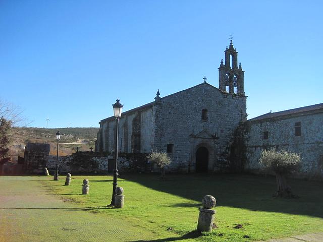 Monasterio de Aciveiro en Forcarei