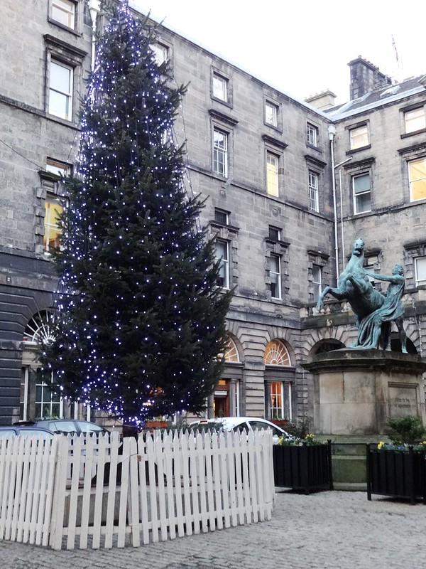 Edinburgh in Christmas