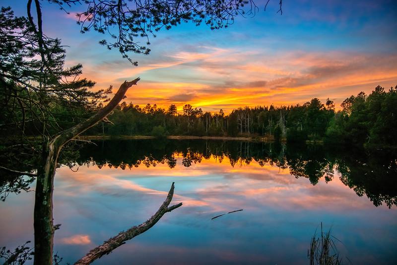 Blindensee Sonnenuntergang D80_0470