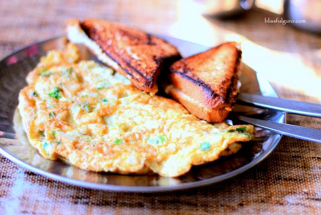 Dhulikhel Nepal Nawaranga Guesthouse Breakfast