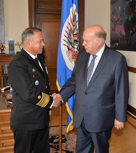Secretario General de la OEA recibió al Presidente Electo de la JID
