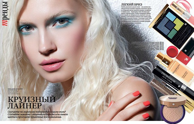 01 Viva! Ukraine october 2014 model Anastasiia Timoshenko, photo Juliya Chernyshova,MUA Evgeniya Yanysheva, Manicurist Ann Sokolova