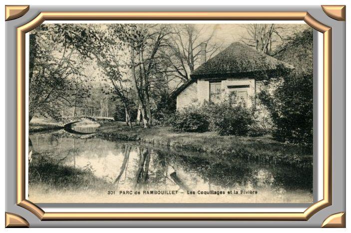 PARC de RAMBOUILLET - Les Coquillages et la Rivière