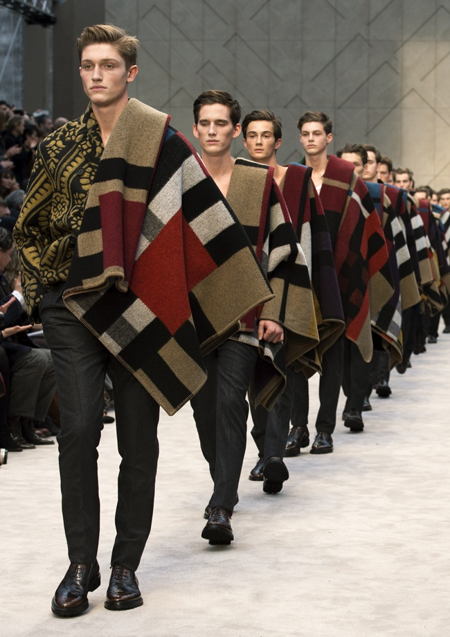 99 Burberry Prorsum Menswear Autumn_Winter 2014 Show Final
