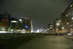 Rückseite des Potsdamer Platzes