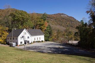 Former Bat Cave Baptist Church