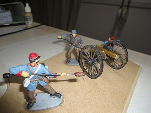 IMEX 1:32/54mm Confederate Cannon Set ref 781 15680679954_19df539372