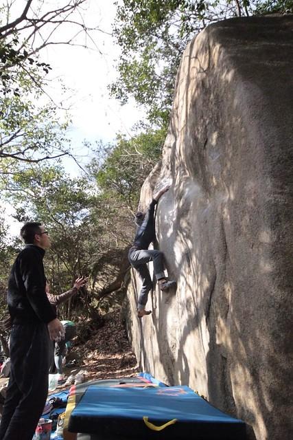 ショーギ岩@北山公園