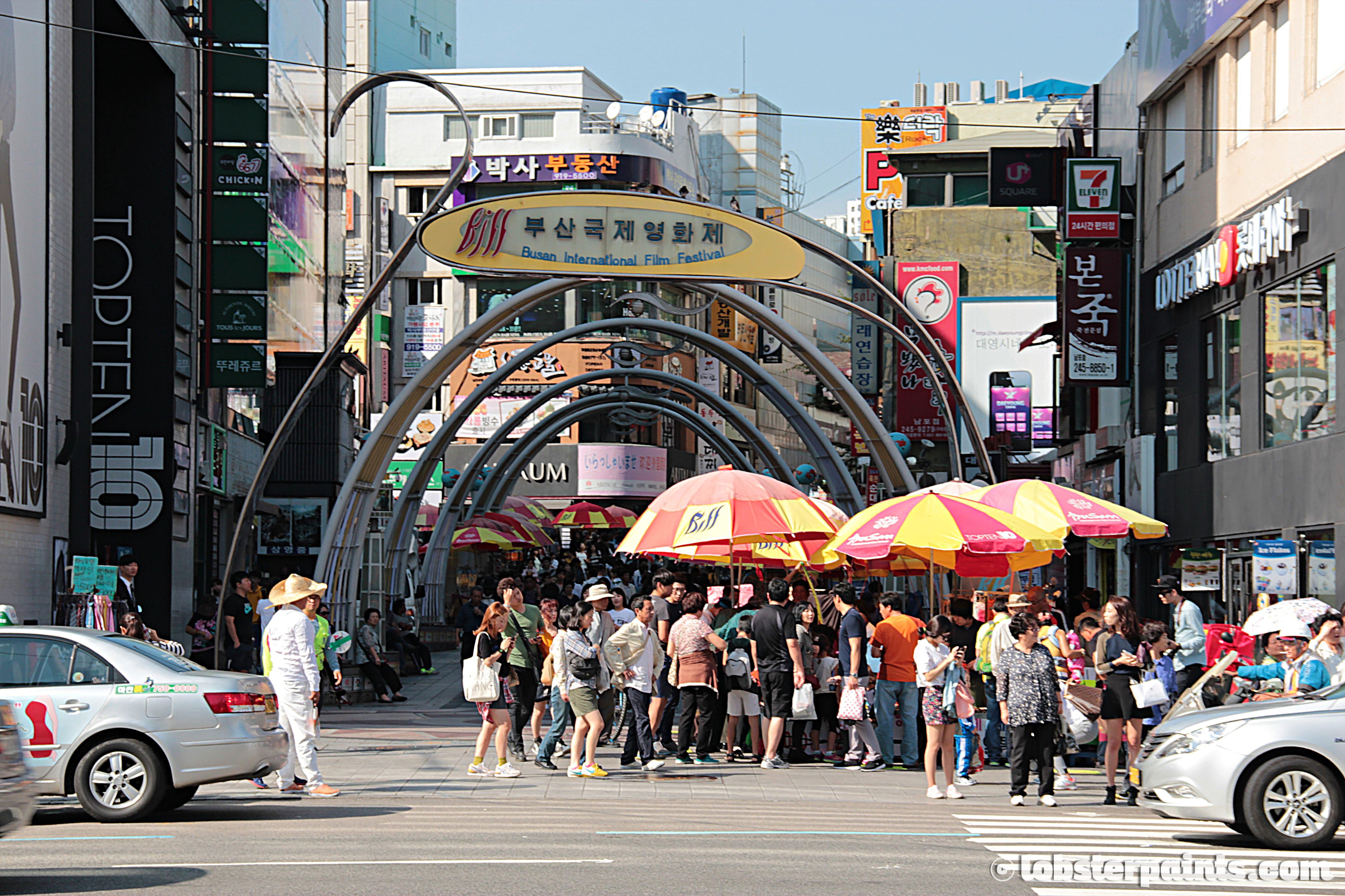 27 Sep 2014: BIFF Square | Busan, South Korea