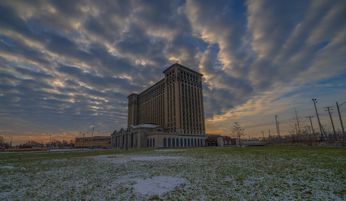 Michigan Central Station (also known as Michigan Central Depot or MCS
