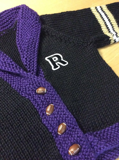 Ryan's Ravens sweater