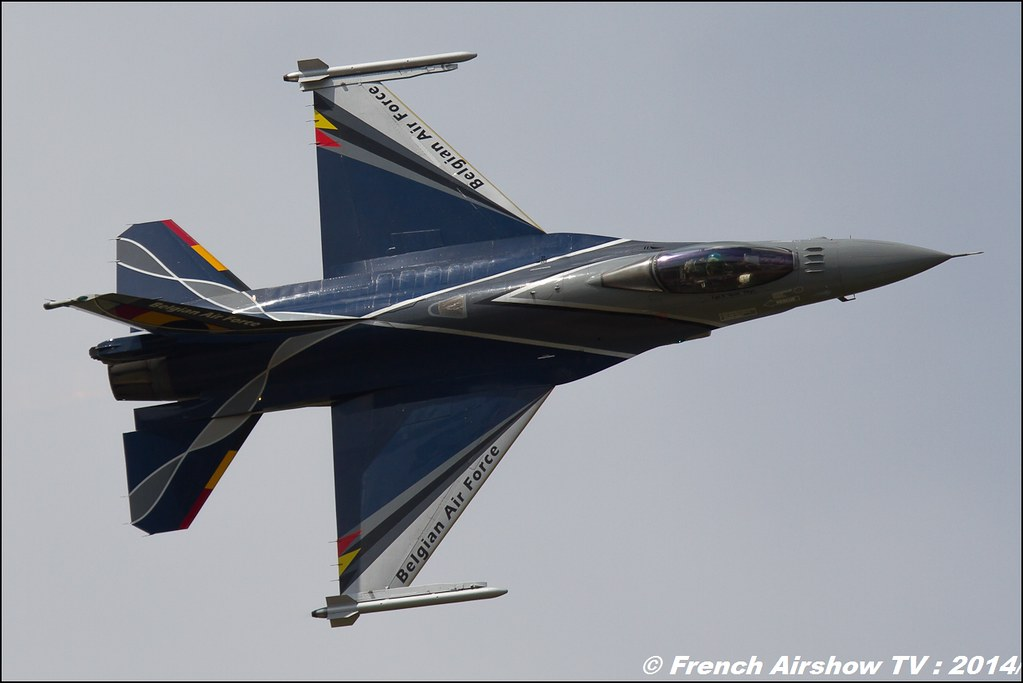 F-16 Belge Solo display 2014, Royal International Air Tattoo 2014