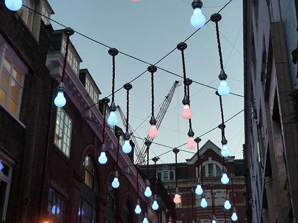 lampe sur carnaby street