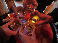 ウイスキーヒルズ2014 屋外で飲む