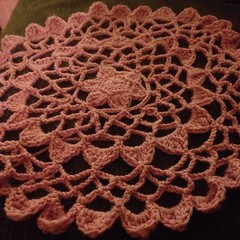 One done. #crochet #lace #doily