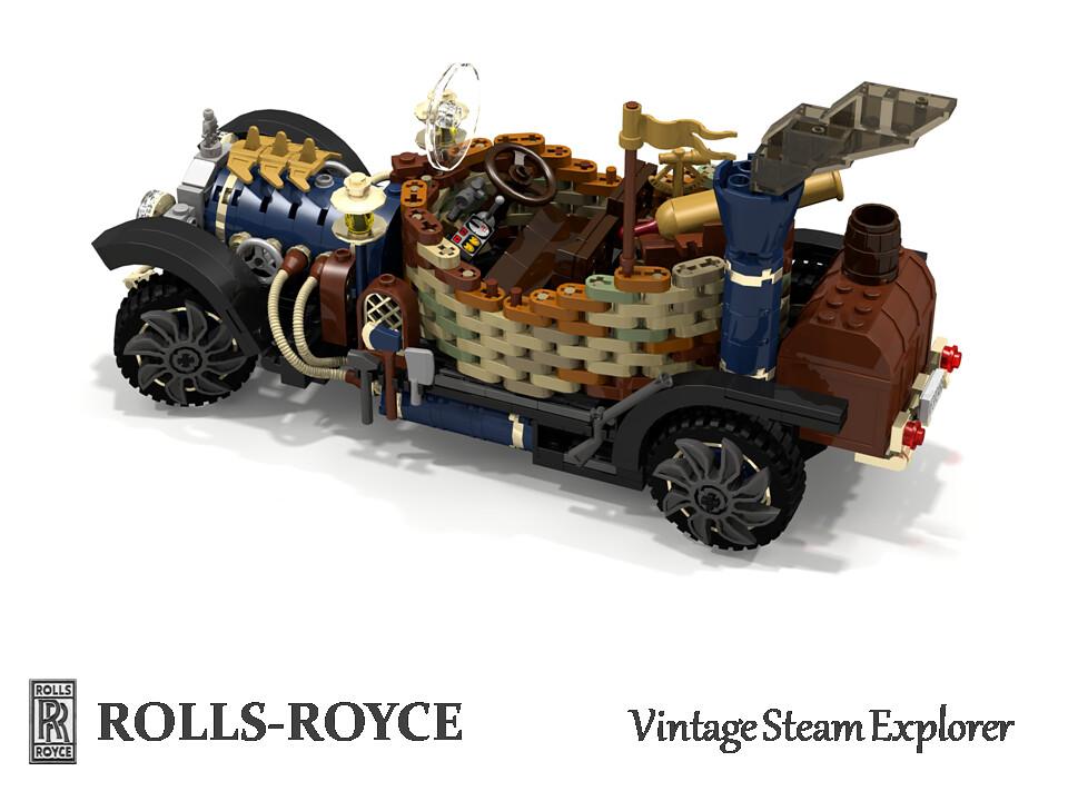 Rolls Royce Vintage Steampunk Explorer Historically Rolls Flickr