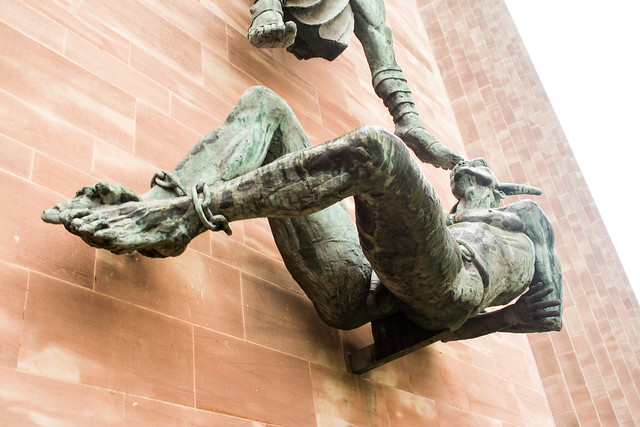 20141016-17_St. Michael's Victory over the Devil (Sir Jacob Epstein 1958)