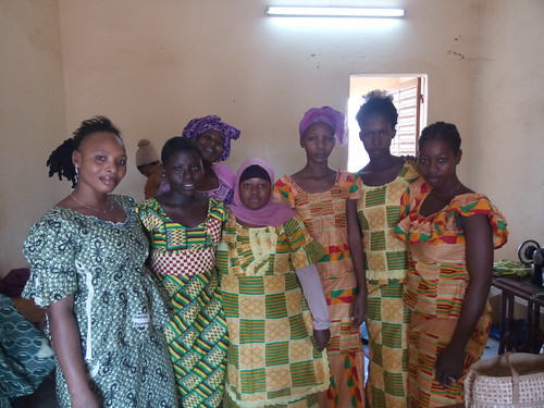 Clothes made at the centre