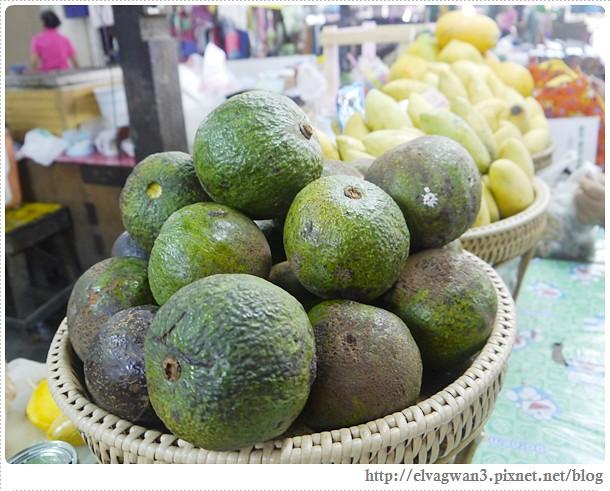 泰國-泰北-清邁-Somphet Market-Tip's Best Fresh Fruit Smoothie-市場-果汁攤-酸奶水果沙拉-燕麥水果優格沙拉-香蕉Ore0-泰式奶茶-早餐-21-1-656-1